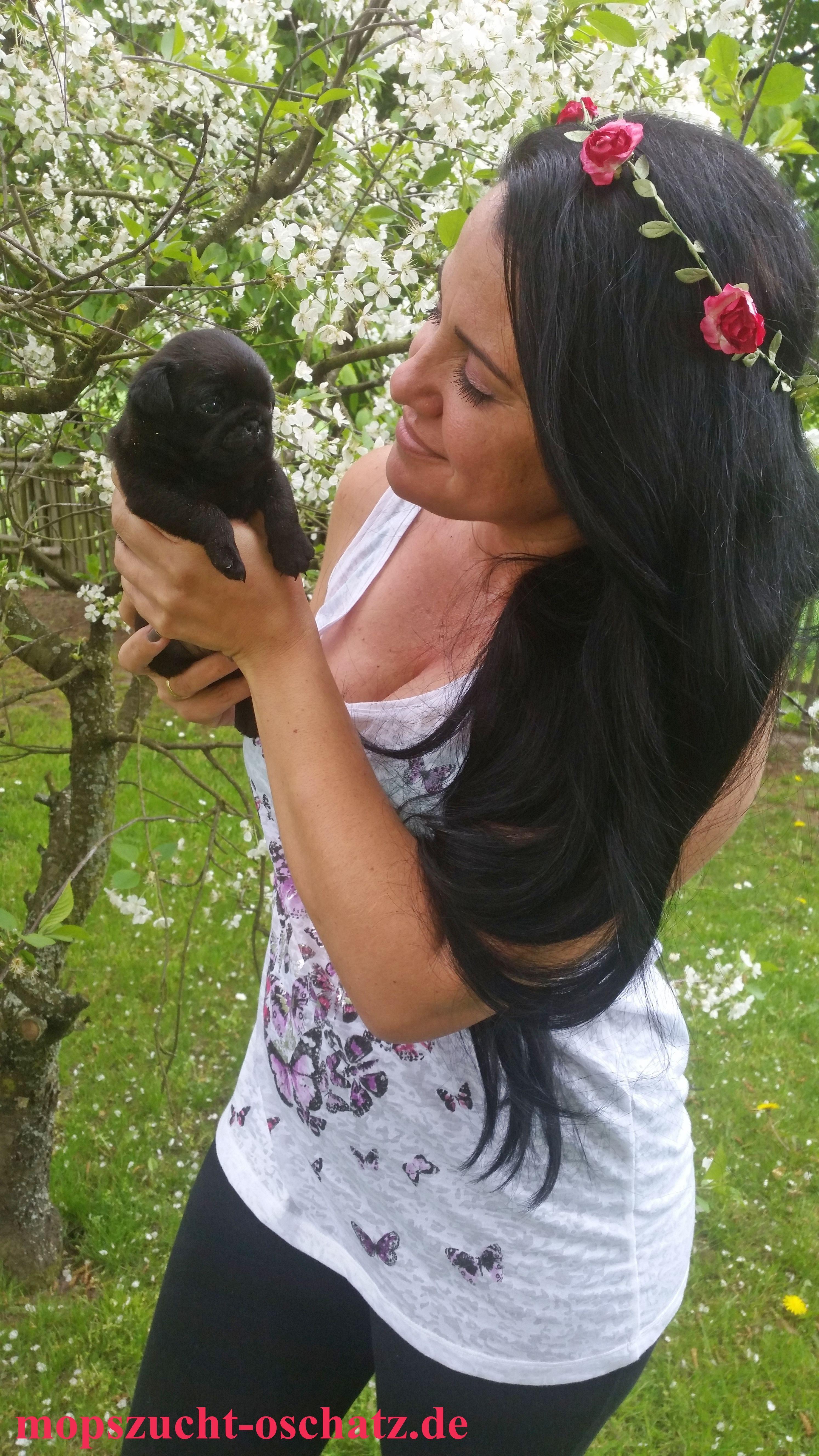 Carla schwarzes Baby n